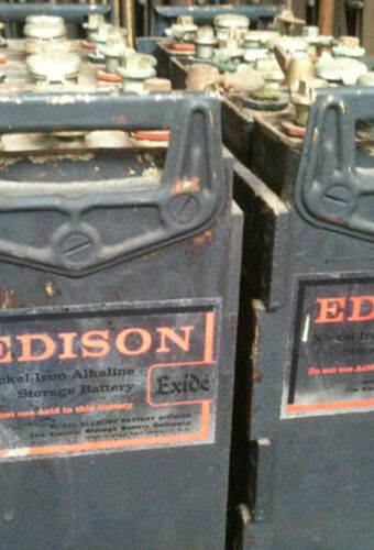 Nickel Iron Edison Batteries