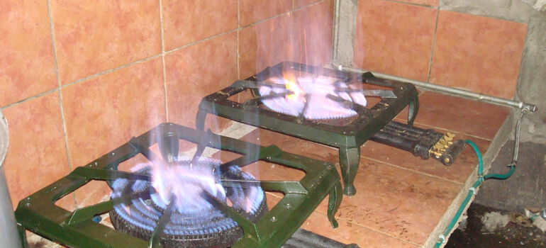 Cooking with Biogas from Home-Scale Biogas Digester