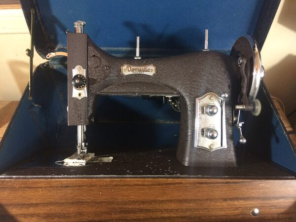 Sewing Machine Used for Sewing Yurt Canvas