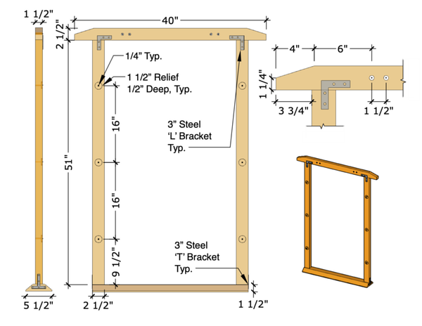 Yurt Door Frame Design