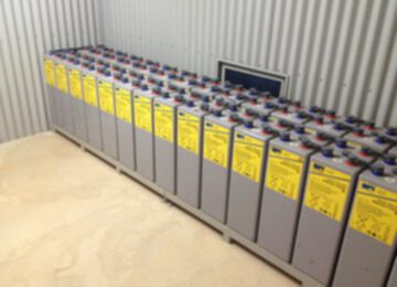 Off Grid Battery Bank