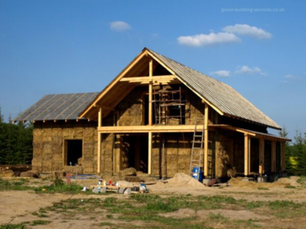 Straw Bale Home Construction